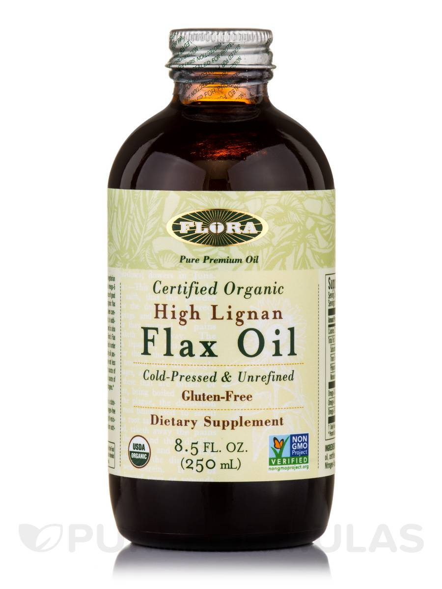 High Lignan Flax Oil - 8.5 fl. oz (250 ml)