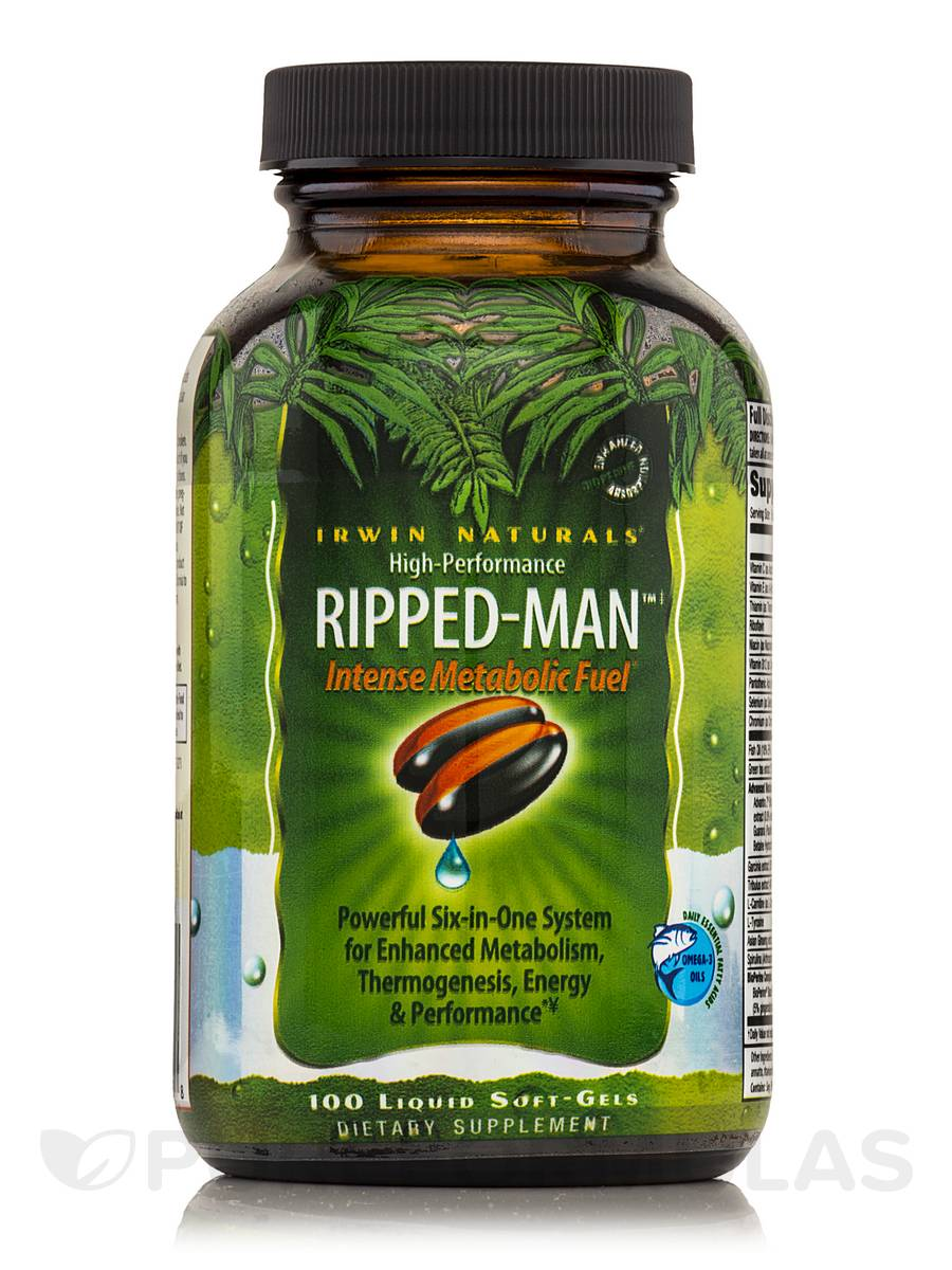 High Performance Ripped Man - 100 Liquid Soft-Gels