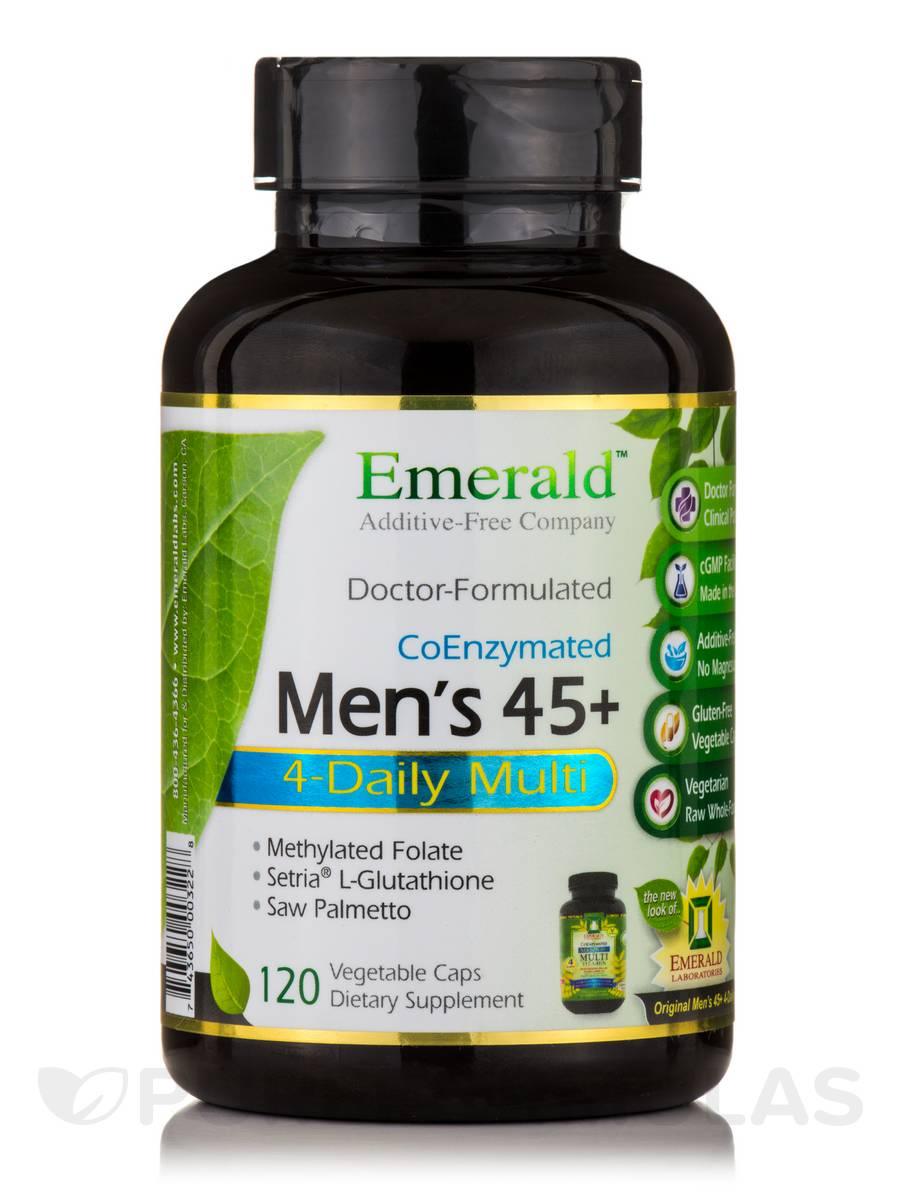 High Potency Men's 45+ Multi Vit-A-Min - 120 Capsules