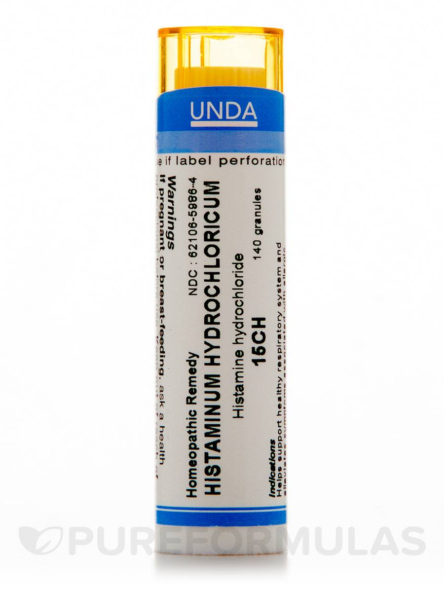 Histaminum Hydrochloricum 15CH - 140 Granules (5.5g)