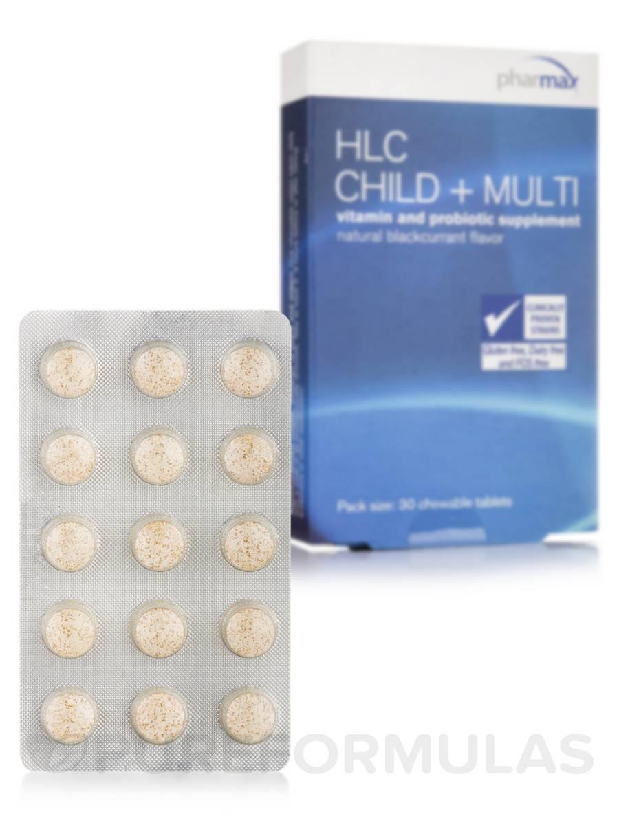 HLC Child + Multi - 30 Tablets