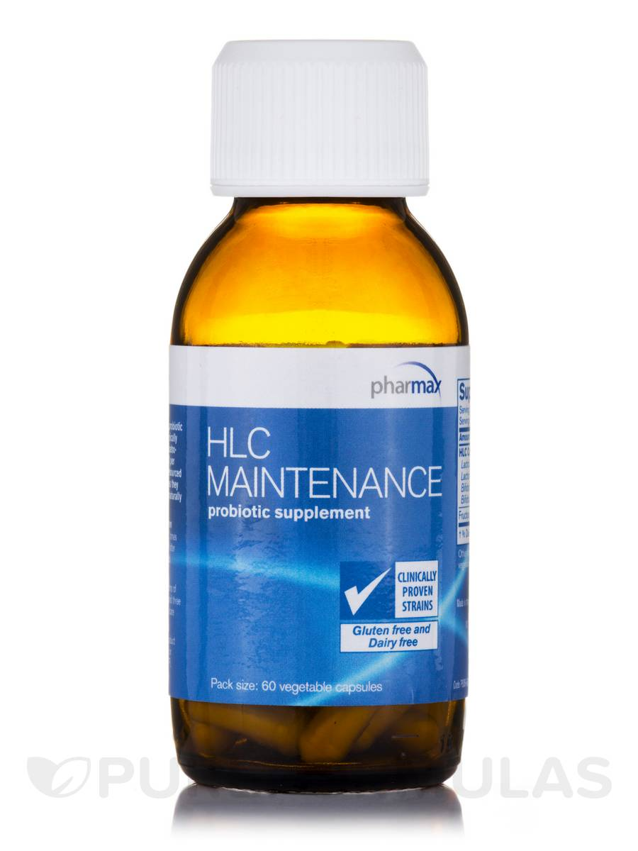 HLC Maintenance - 60 Vegetable Capsules