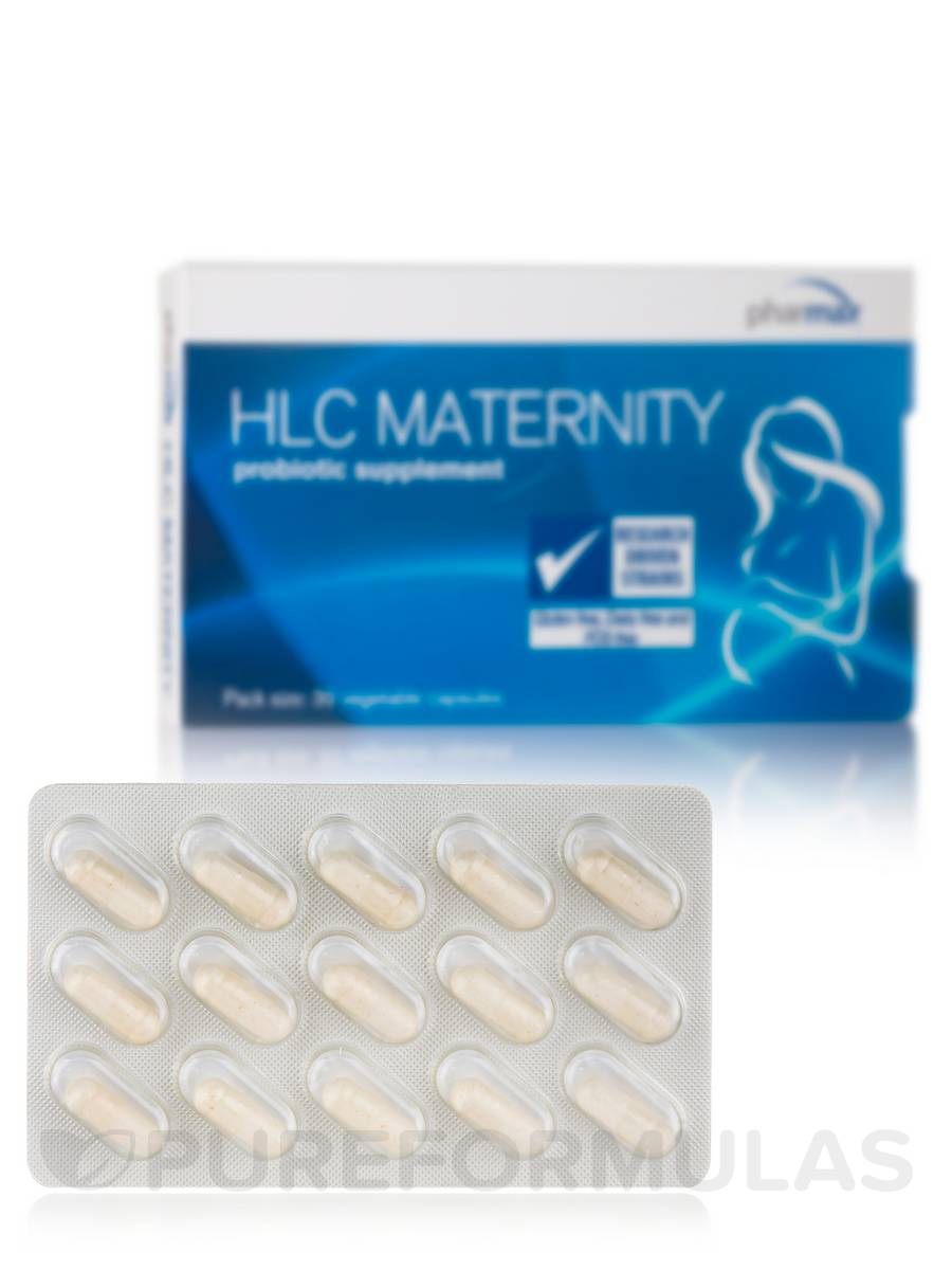 HLC Maternity - 30 Vegetable Capsules