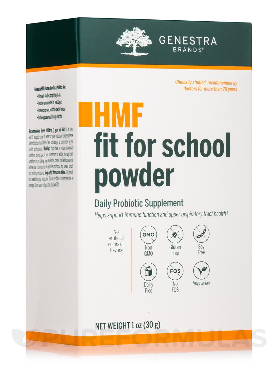 HMF Fit For School Powder, Natural Blackcurrant Flavor - 1 oz (30 Grams)