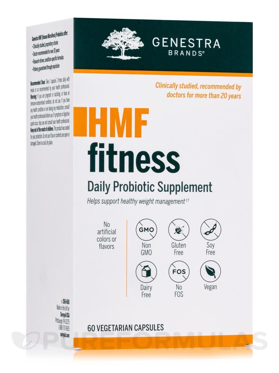 HMF Fitness - 60 Vegetable Capsules