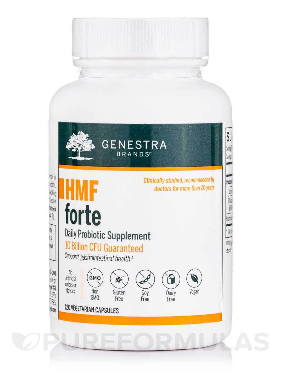 HMF Forte - 120 Vegetable Capsules