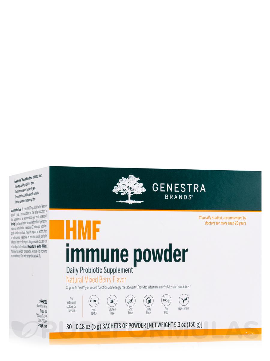 HMF Immune Powder, Natural Mixed Berry Flavor - Box of 30 Sachets