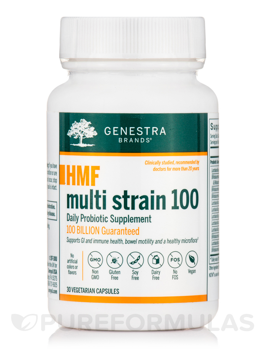 HMF Multi Strain 100 - 30 Vegetable Capsules