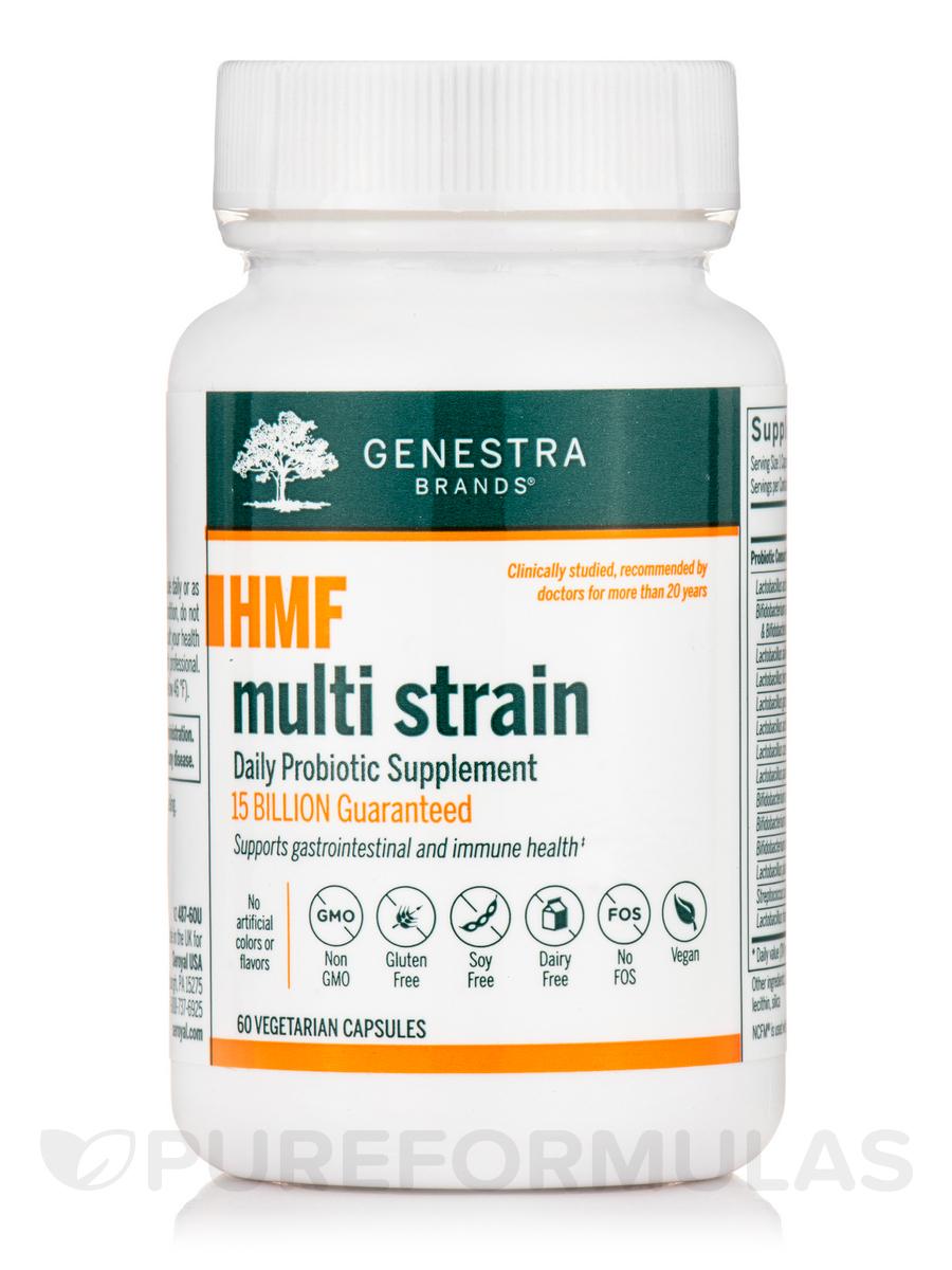 HMF Multi Strain - 60 Vegetable Capsules