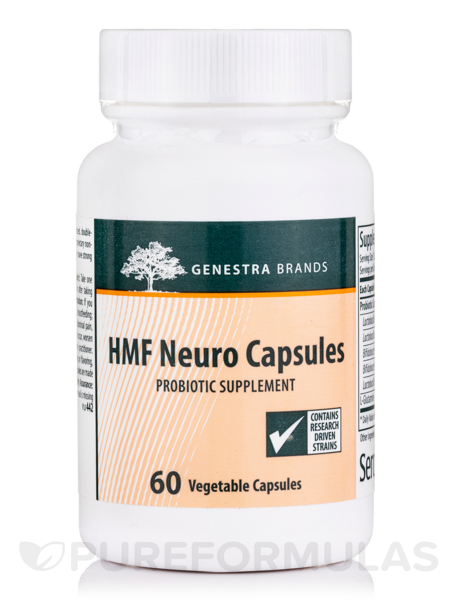 HMF Neuro - 60 Vegetable Capsules
