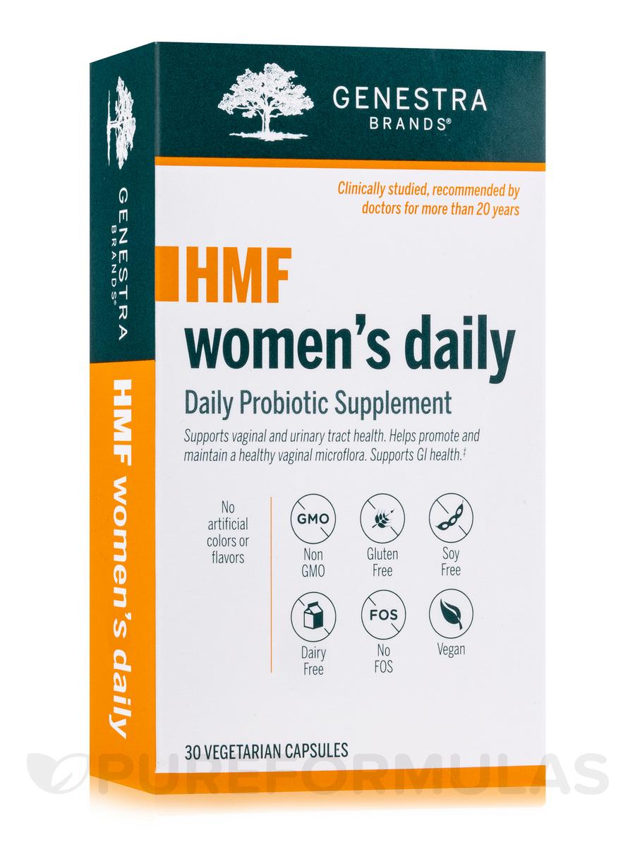 HMF Women's Daily Probiotic - 30 Vegetarian Capsules