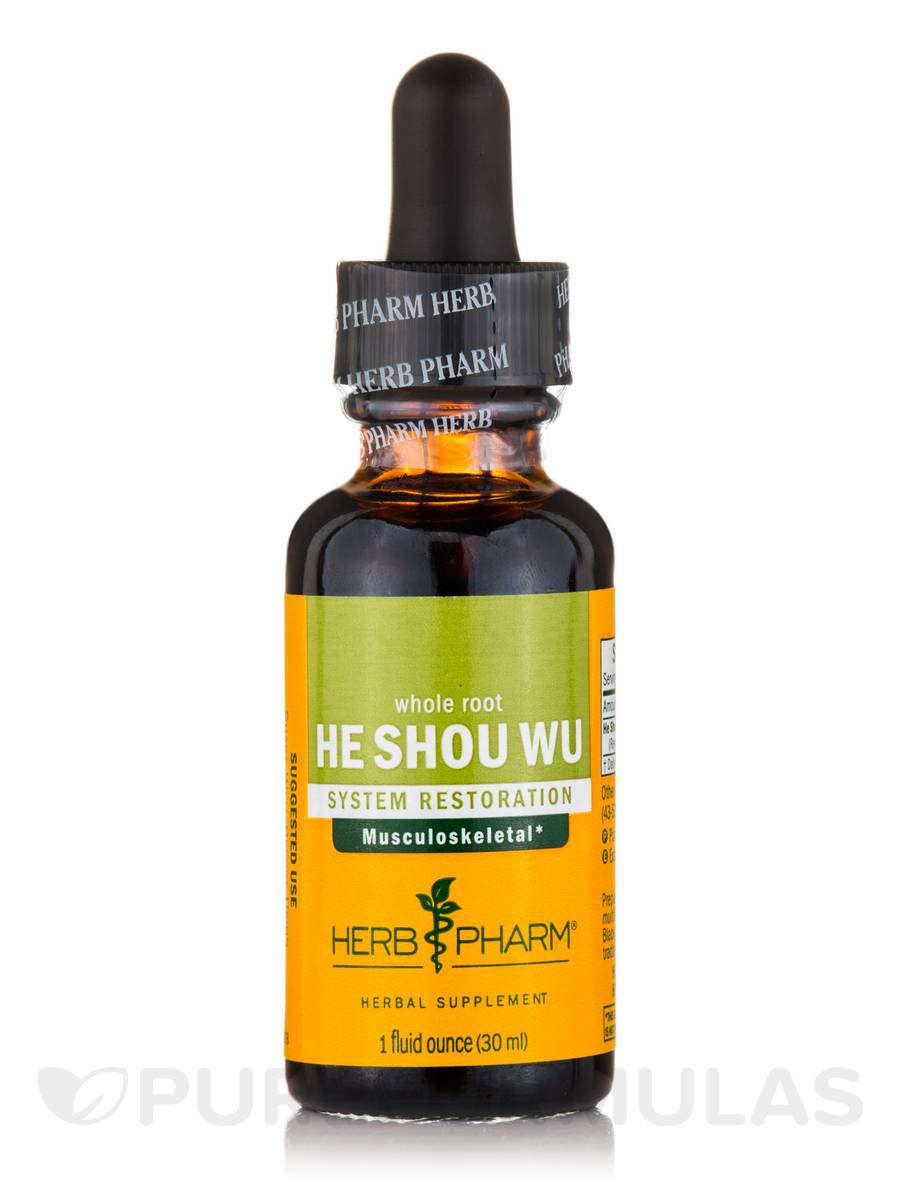 He Shou Wu (Whole Root) - 1 oz (30 ml)