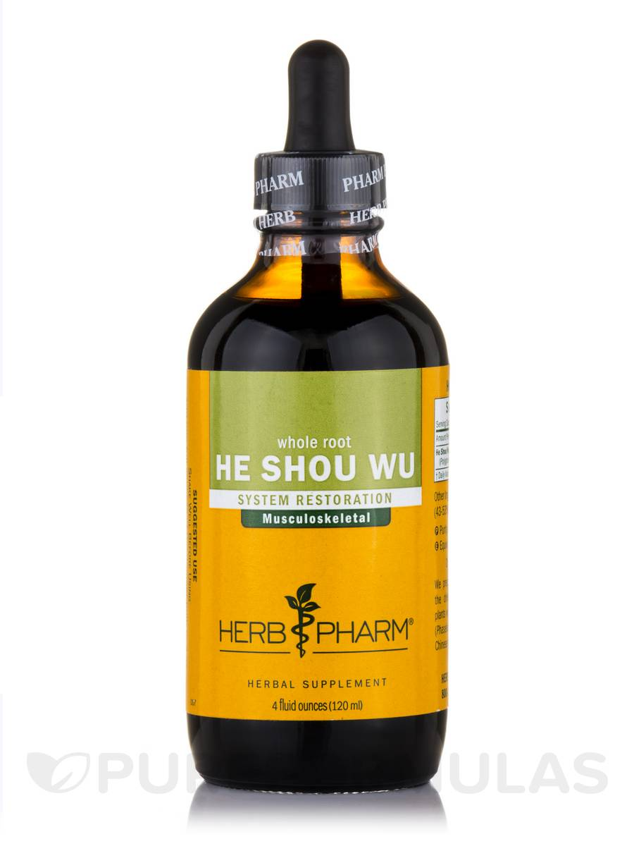 He Shou Wu (Whole Root) - 4 fl. oz (120 ml)