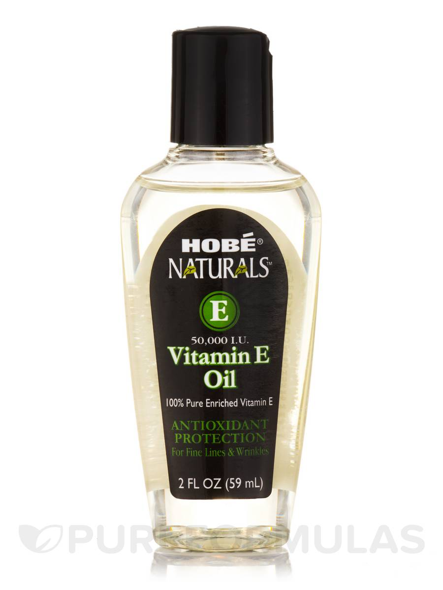 Hobé® Naturals™ Vitamin E Oil 50,000 IU - 2 fl. oz (59 ml)