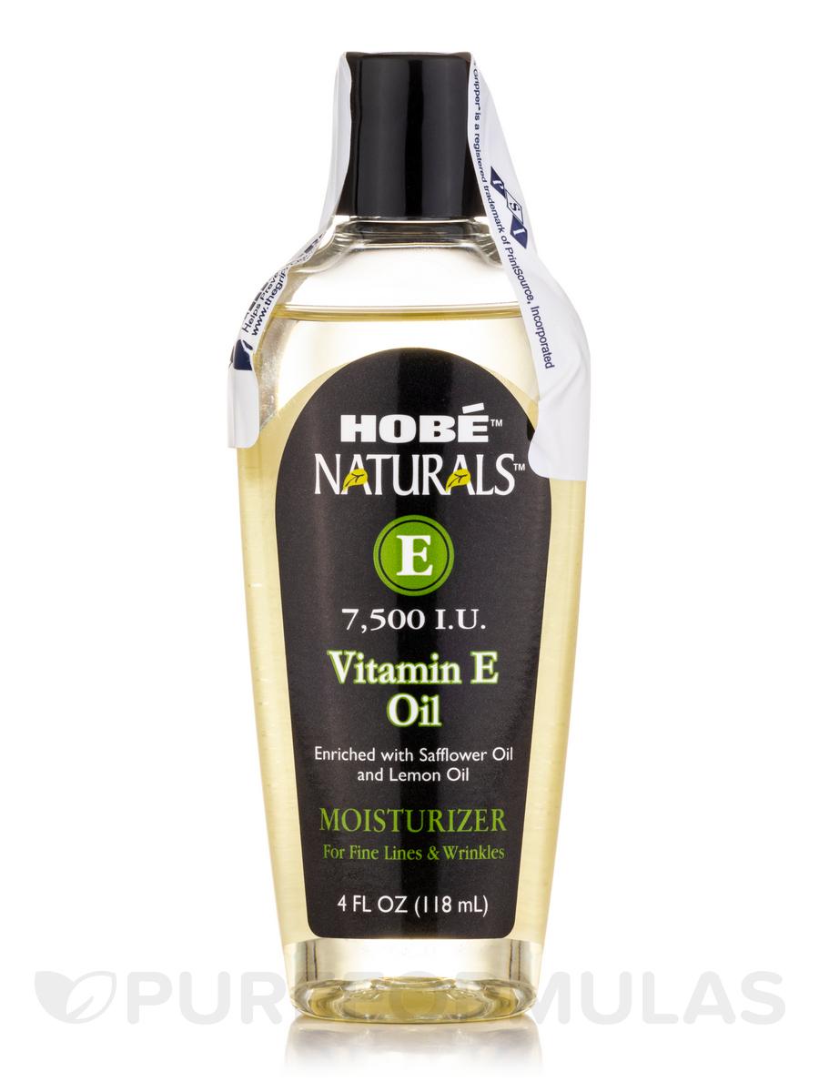 Hobé® Naturals™ Vitamin E Oil 7,500 IU - 4 fl. oz (118 ml)