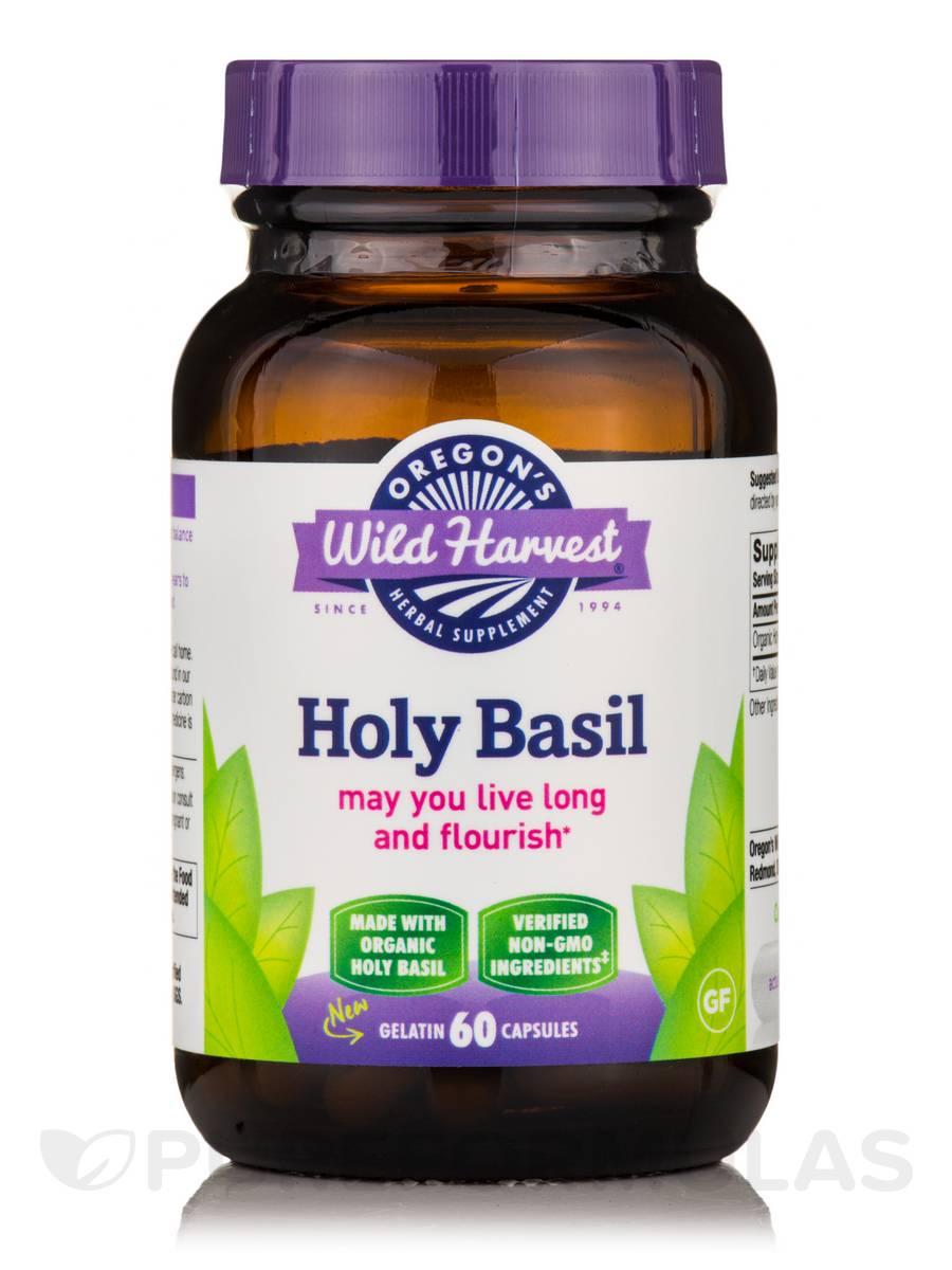 Holy Basil - 60 Gelatin Capsules