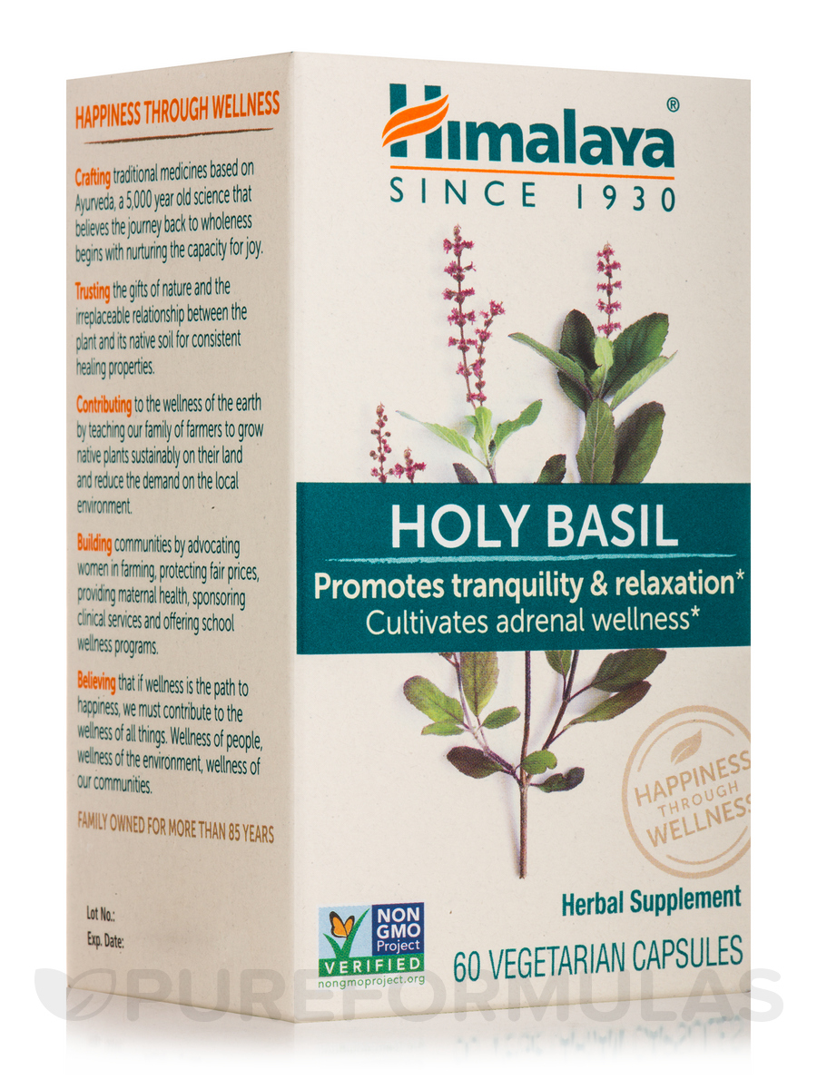 Holy Basil - 60 Vegetarian Capsules