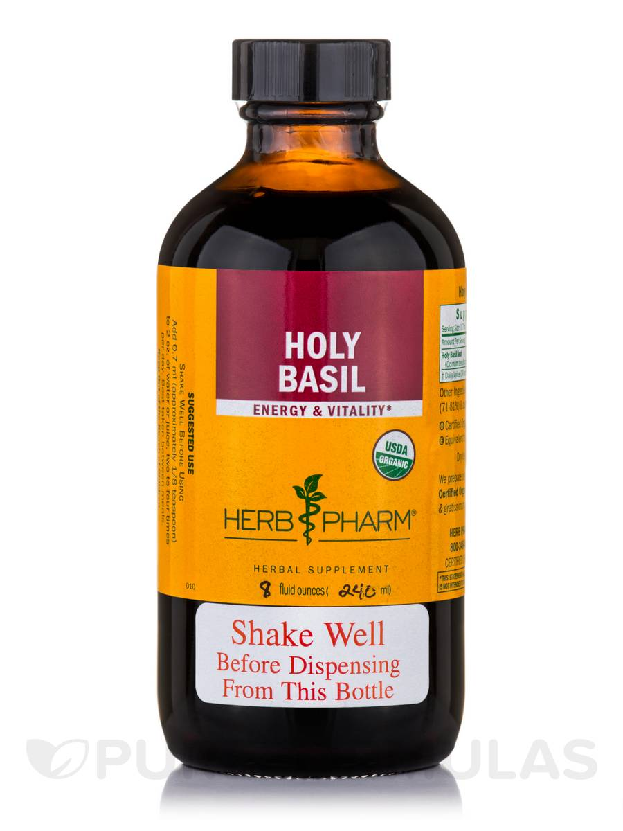 Holy Basil - 8 fl. oz (240 ml)