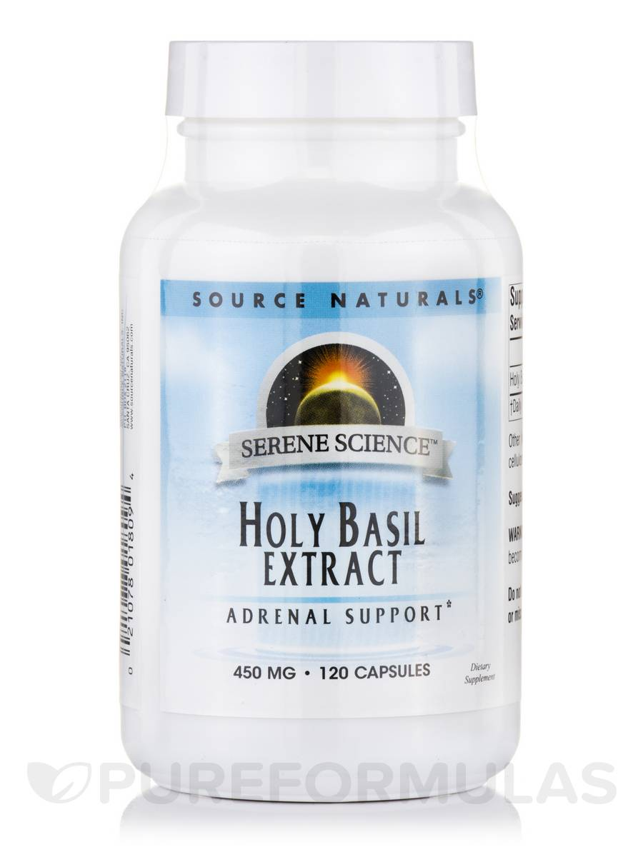 Holy Basil Extract 450 mg - 120 Capsules
