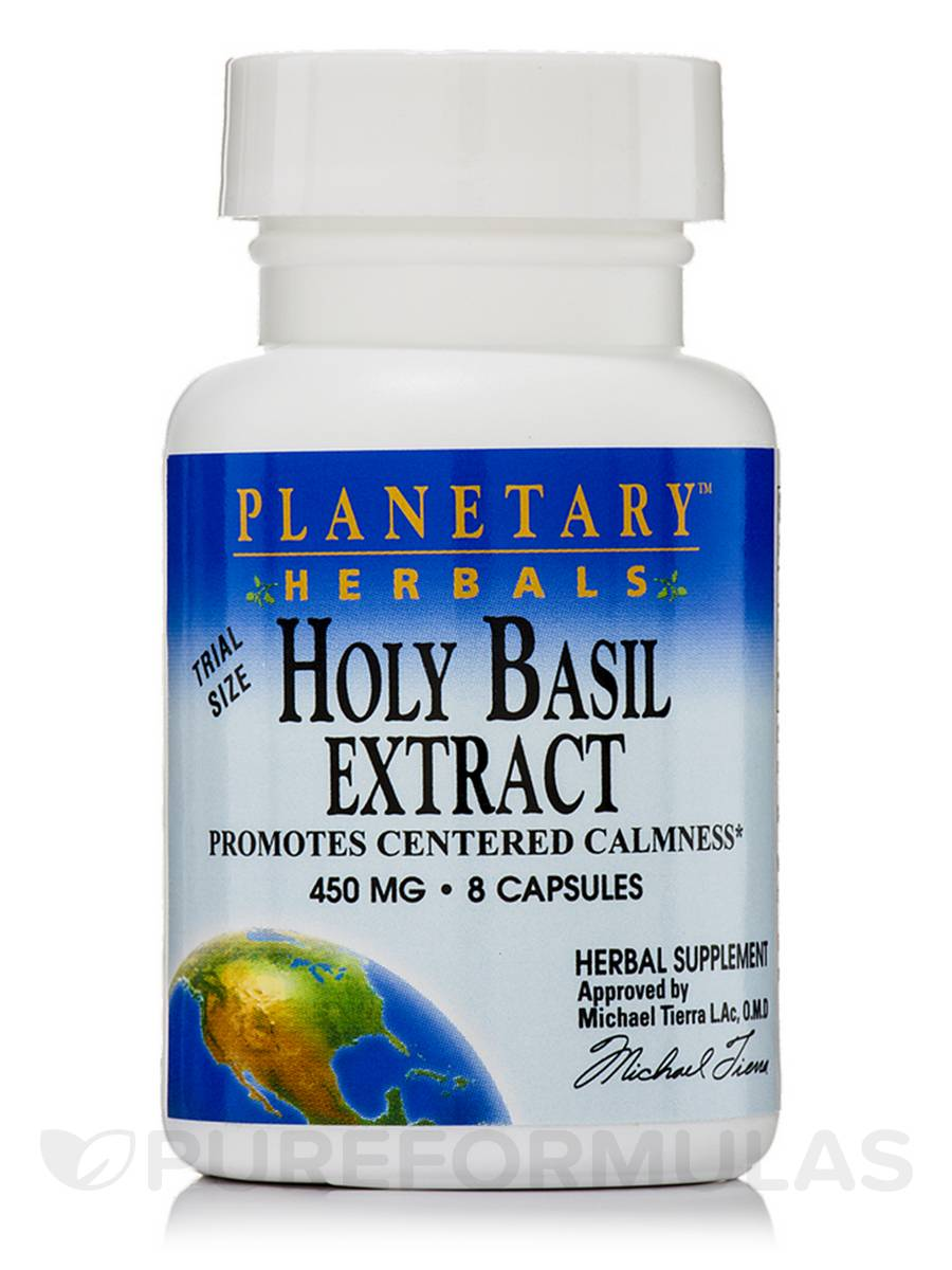 Holy Basil Extract 450 mg - 8 Capsules