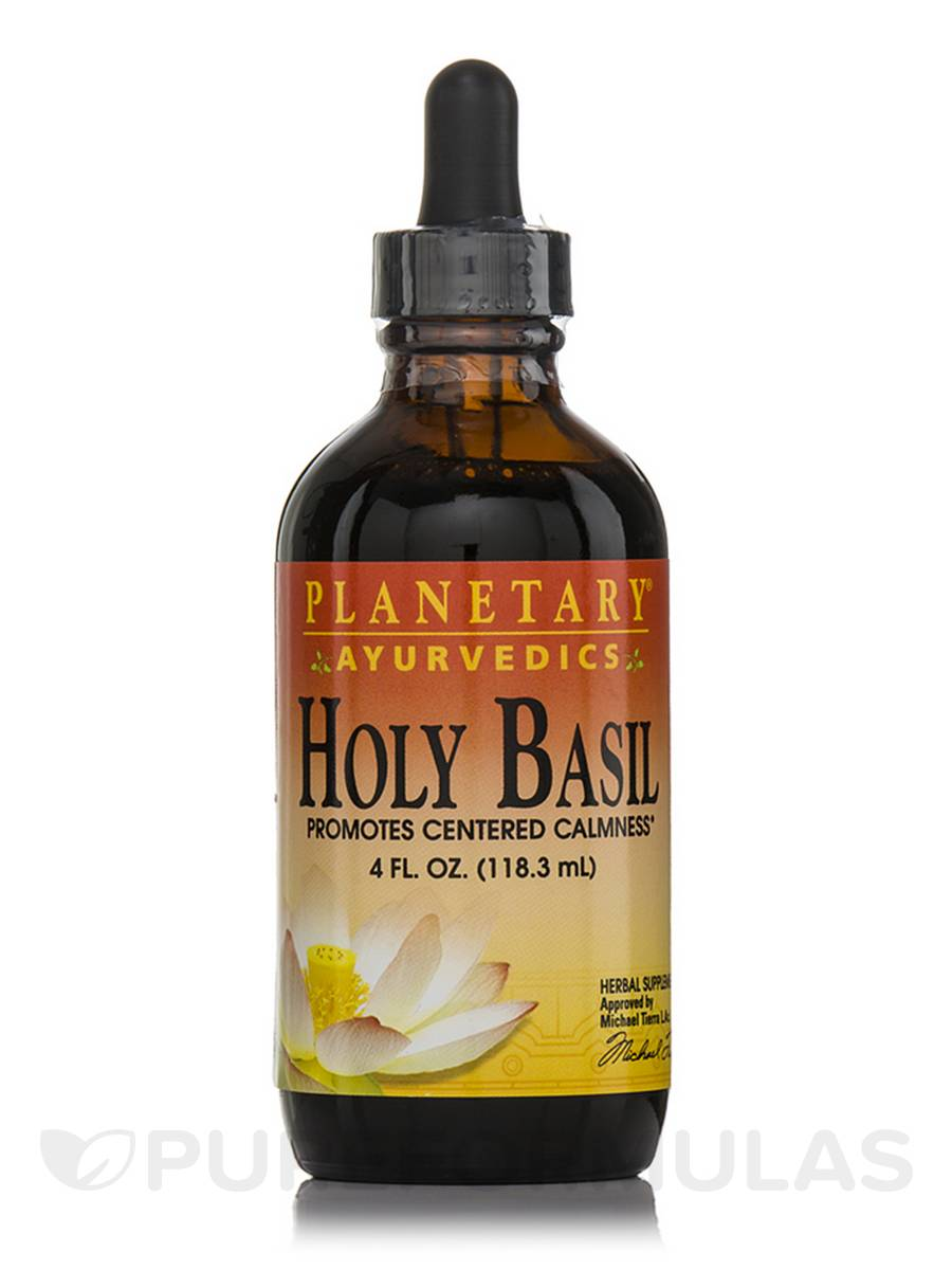 Holy Basil Liquid Extract - 4 fl. oz (118.3 ml)