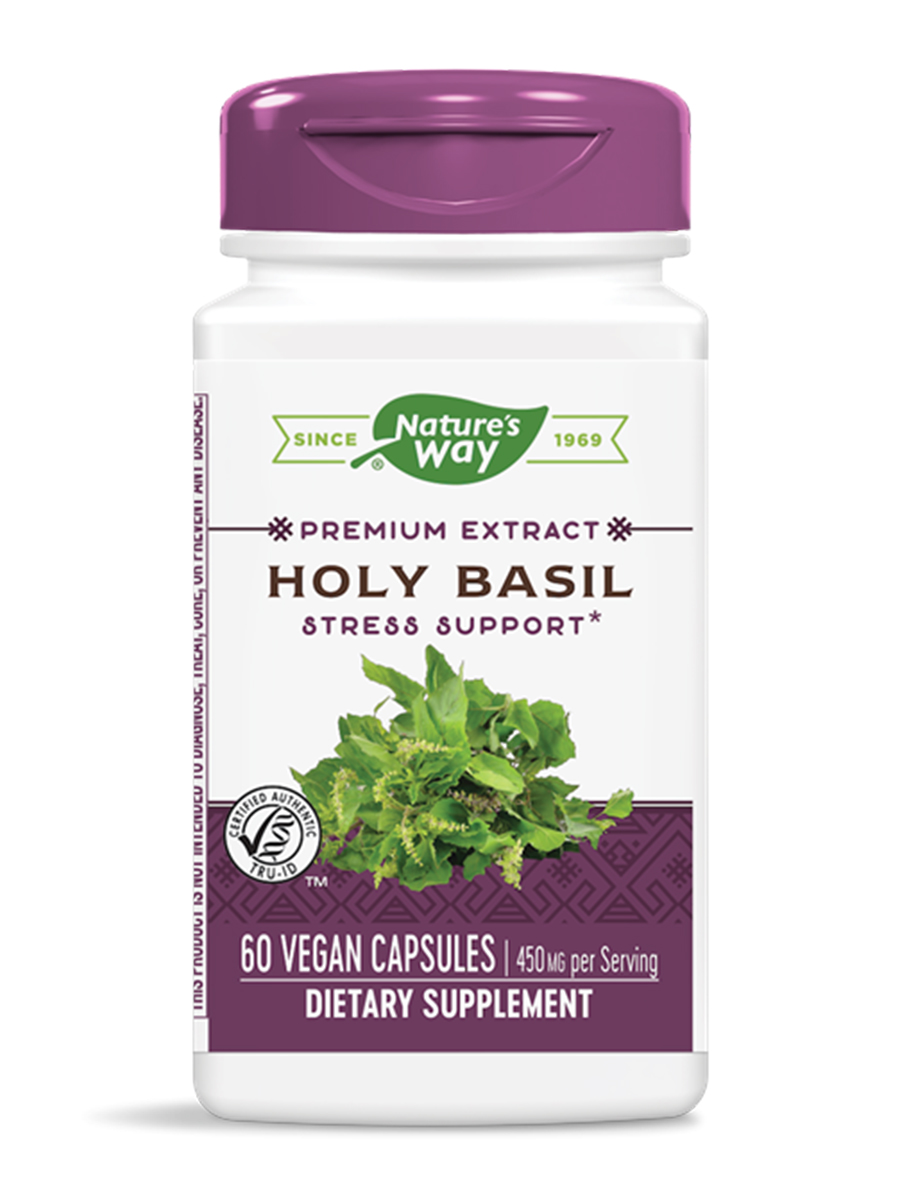 Holy Basil Standardized - 60 VCaps