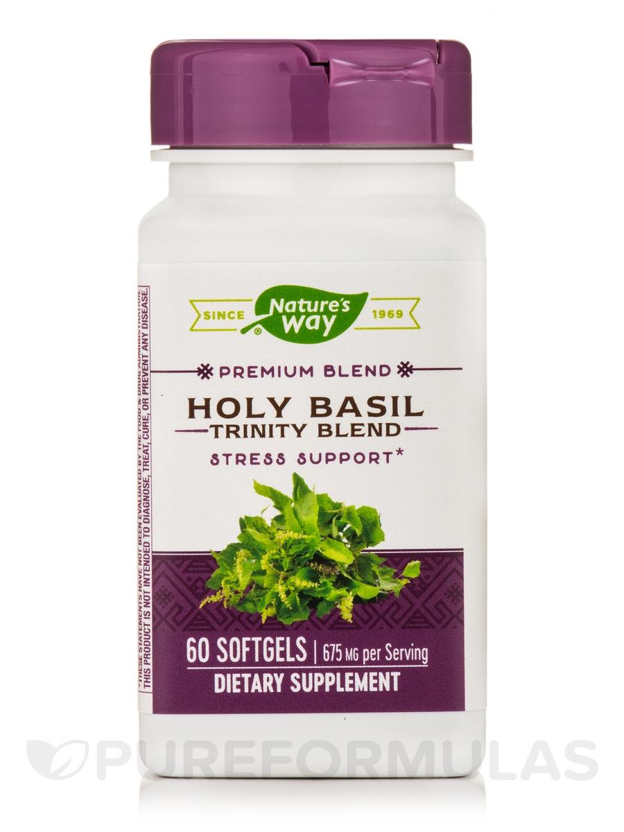 Holy Basil Trinity Blend™ - 60 Softgels