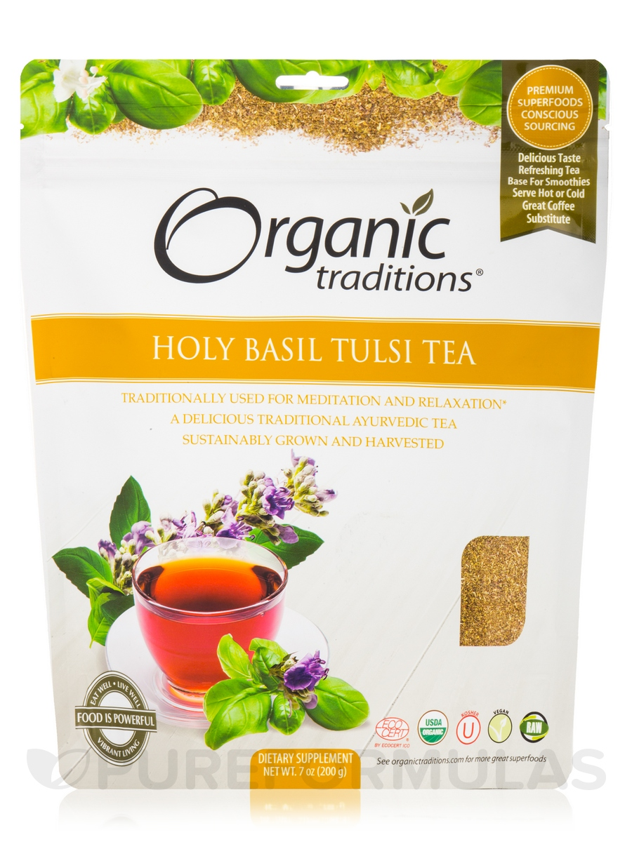Holy Basil (Tulsi) Tea Cut - 7 oz (200 Grams)