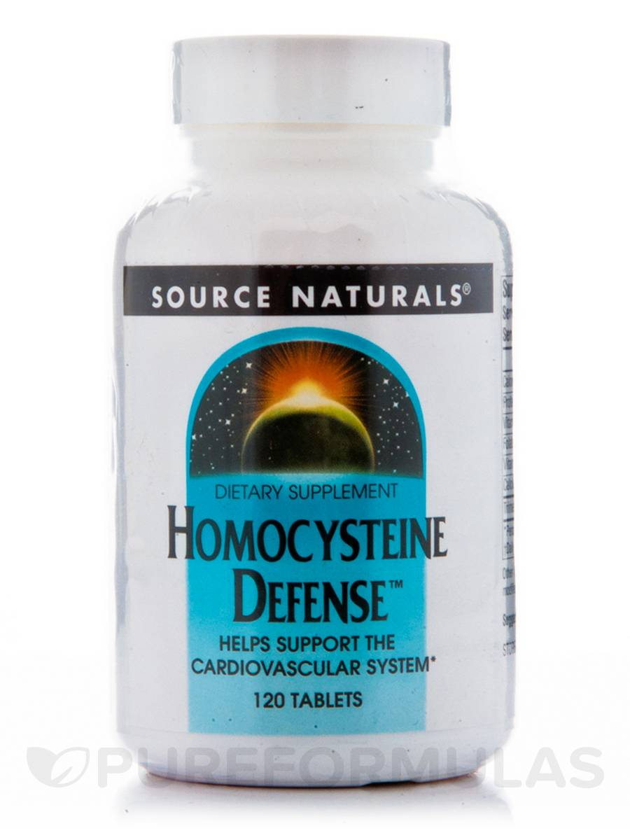 Homocysteine Defense - 120 Tablets