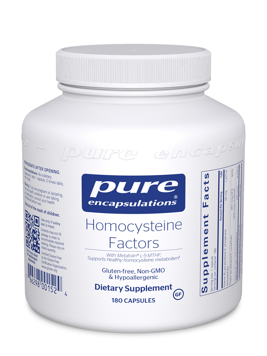 Homocysteine Factors - 180 Capsules
