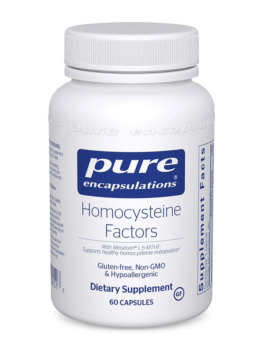 Homocysteine Factors - 60 Capsules