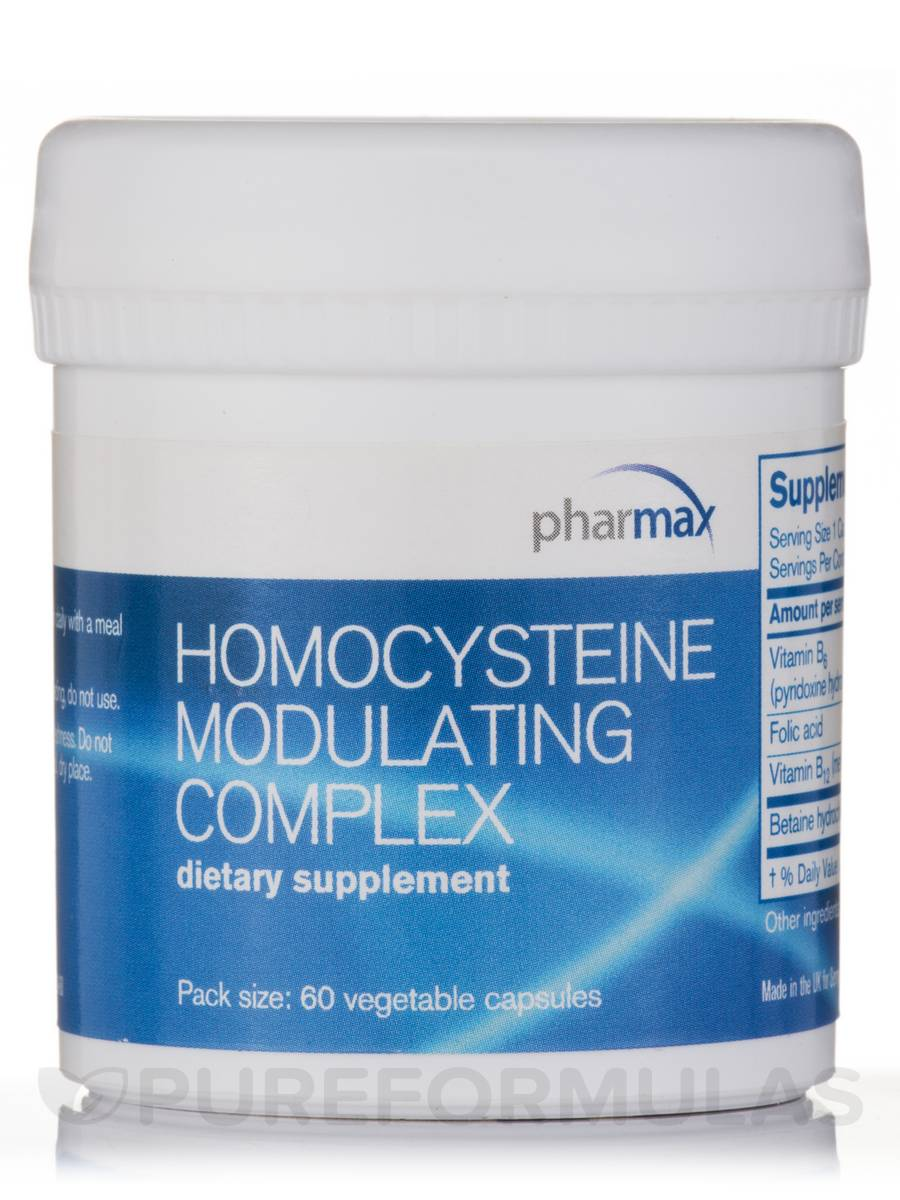 Homocysteine Modulating Complex - 60 Vegetable Capsules