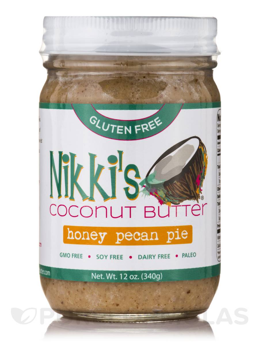 Honey Pecan Pie Coconut Butter - 12 oz (340 Grams)