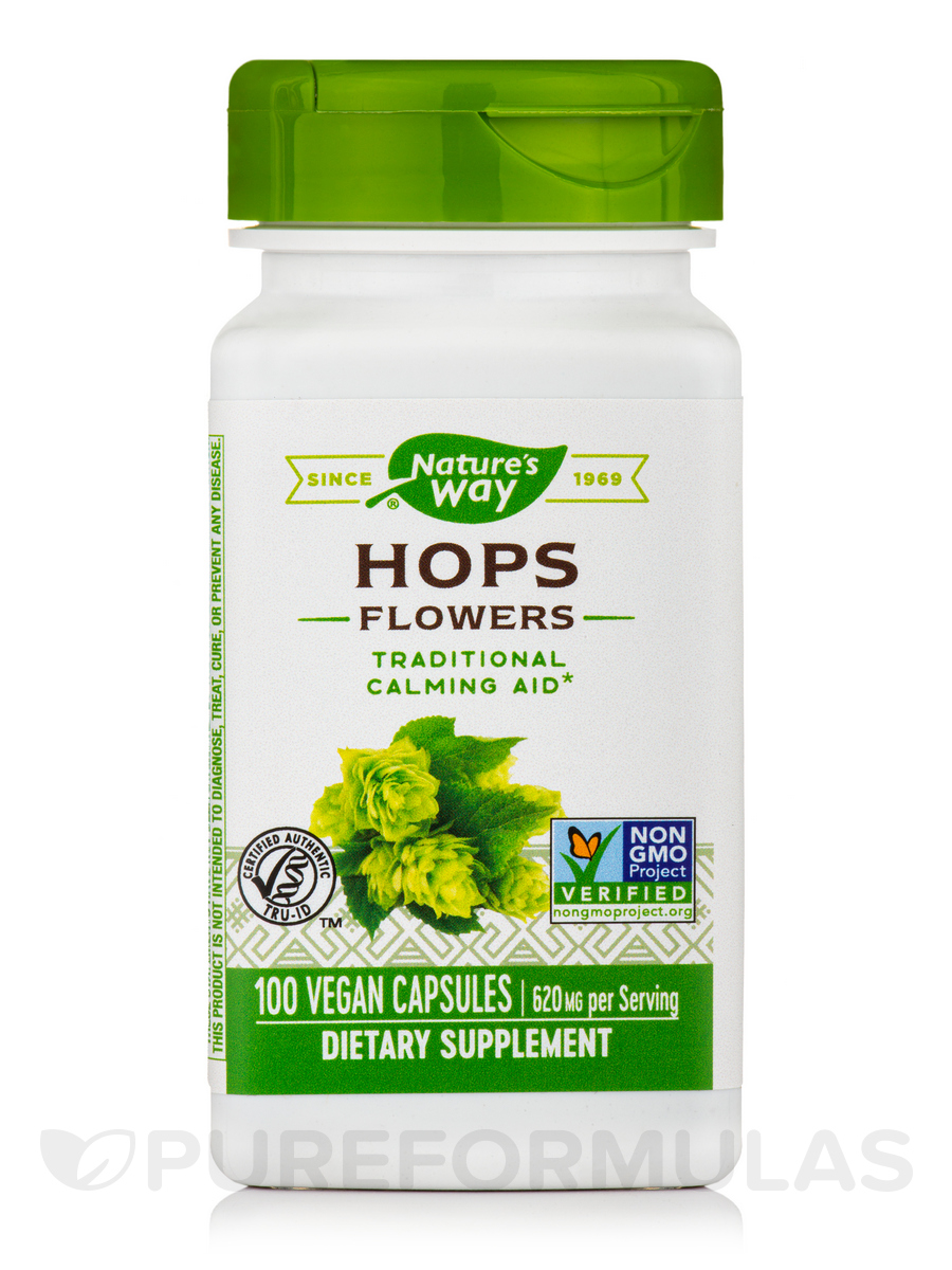 Hops Flowers 310 mg - 100 Capsules