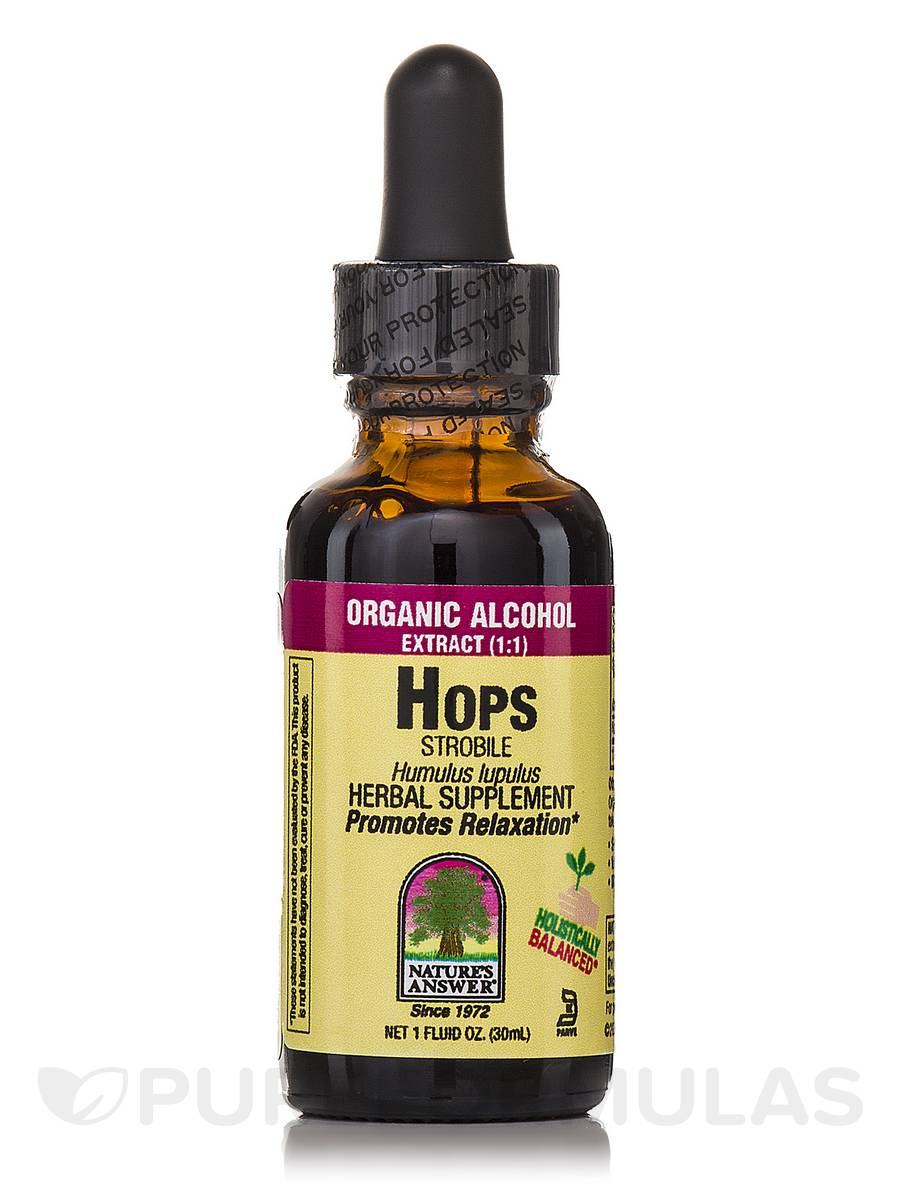 Hops Strobile Extract - 1 fl. oz (30 ml)