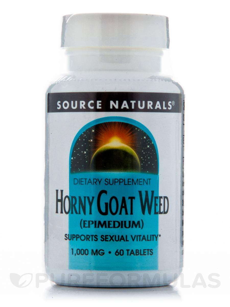 Horny Goat Weed 1000 mg - 60 Tablets