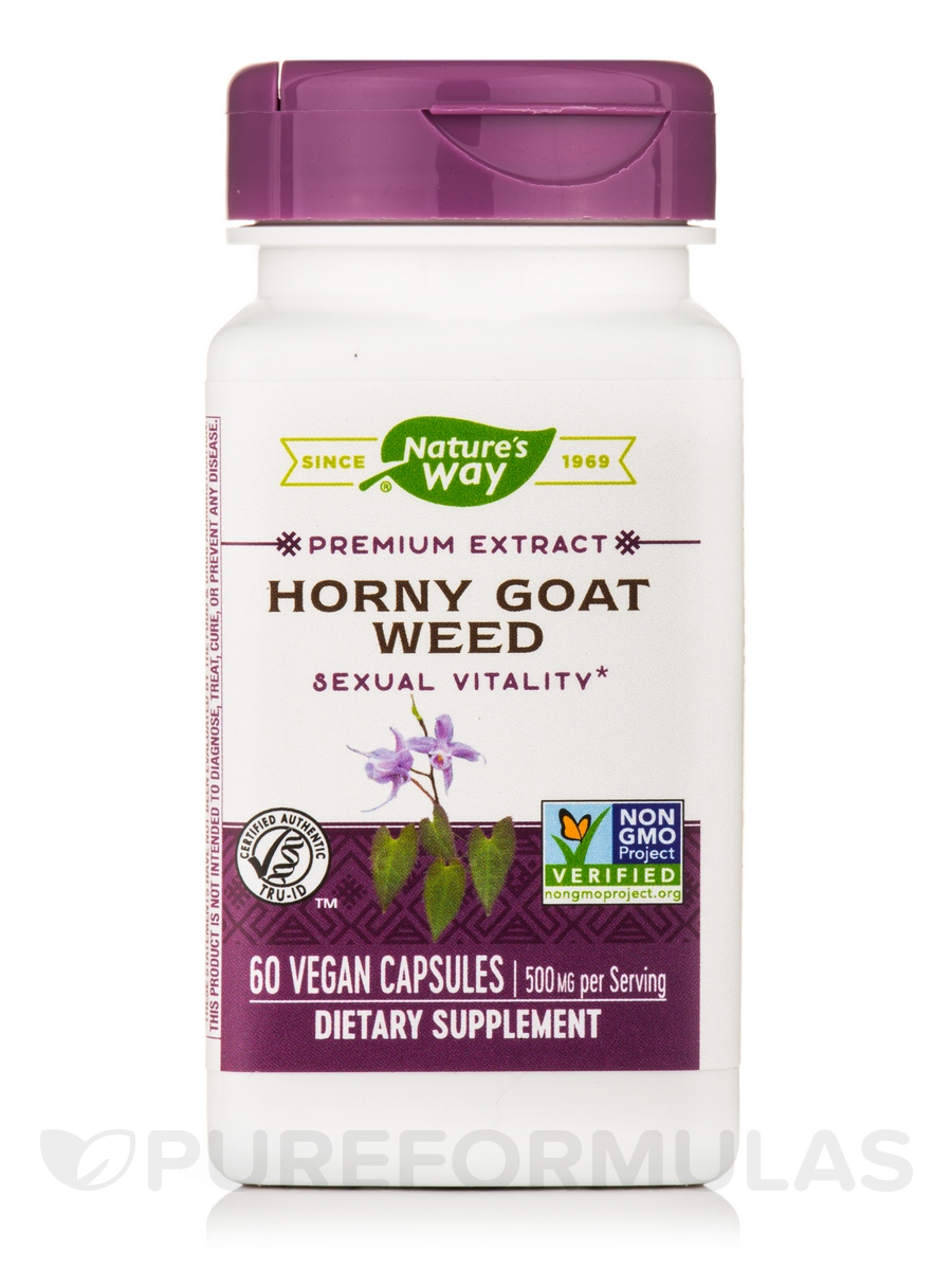 Horny Goat Weed Standardized - 60 Capsules