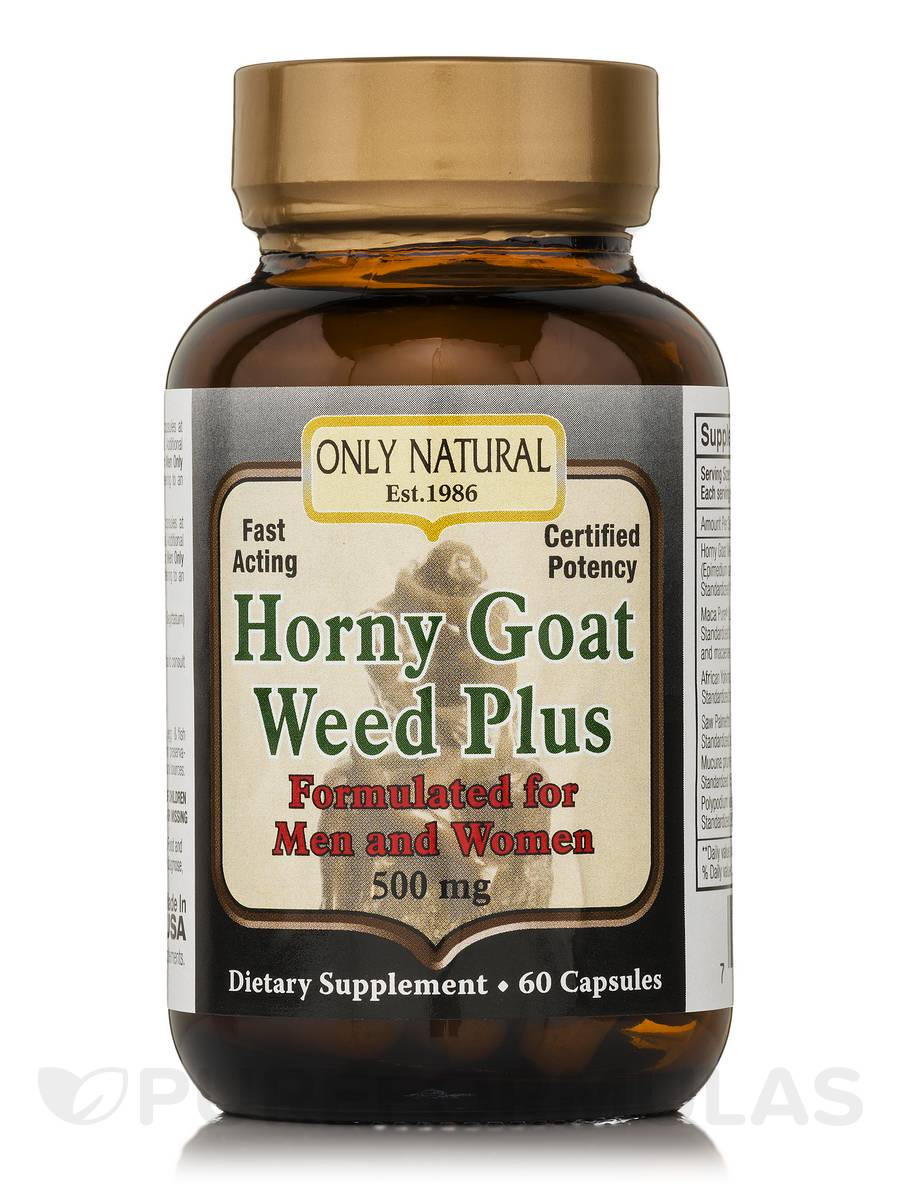 Horny Goat Weed - 60 Capsules