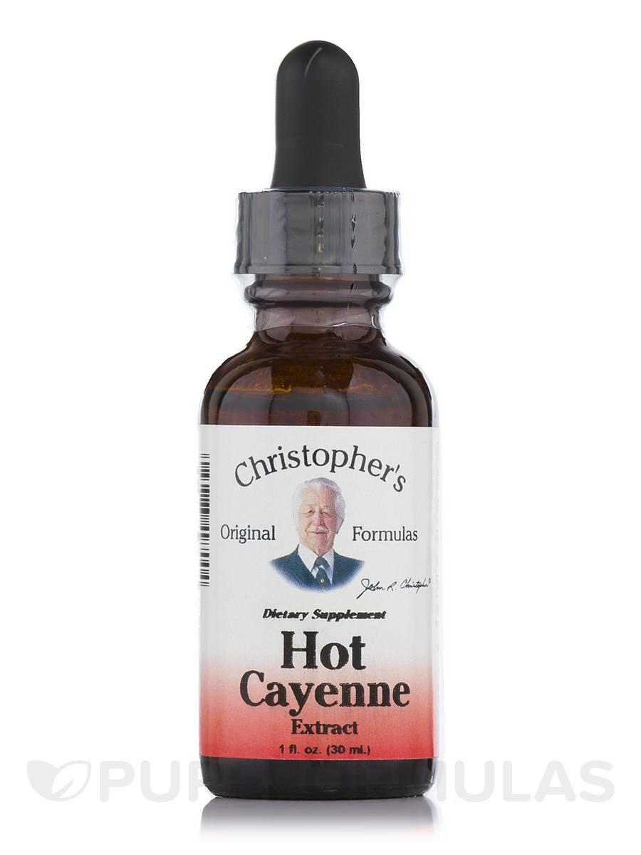 Hot Cayenne Extract - 1 fl. oz (30 ml)