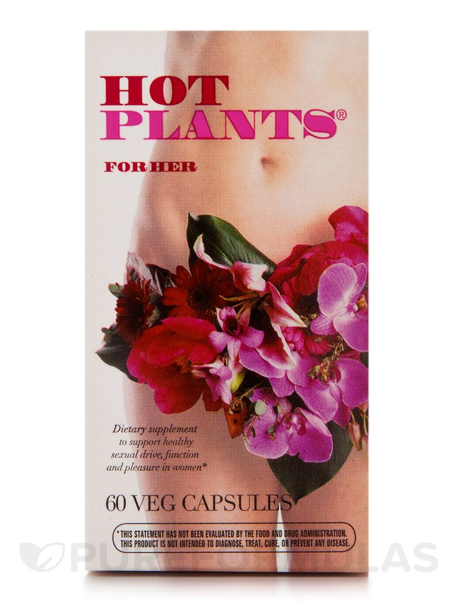Hot Plants for Her - 60 Vegetarian Capsules