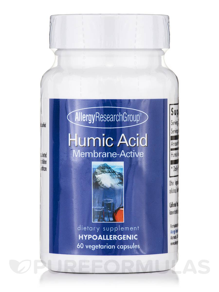 Humic Acid - 60 Vegetarian Capsules