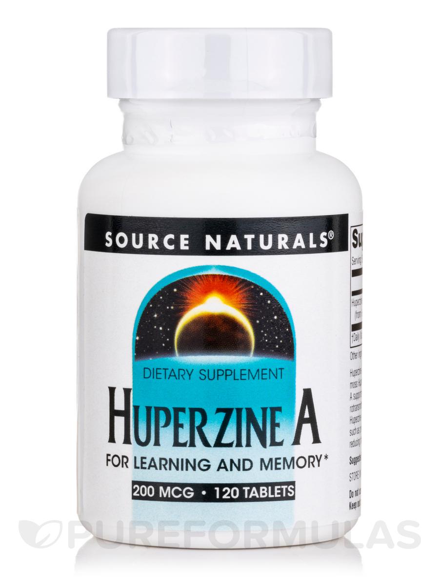 Huperzine A 200 mcg - 120 Tablets