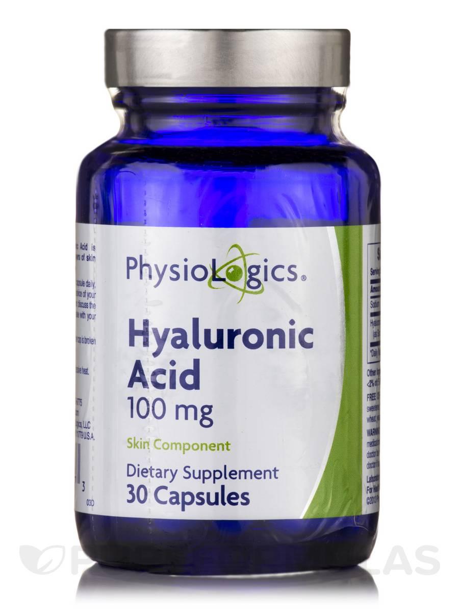 Hyaluronic Acid 100 mg - 30 Capsules