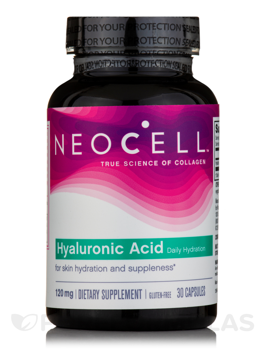 Hyaluronic Acid 120 mg (Double Strength) - 30 Capsules