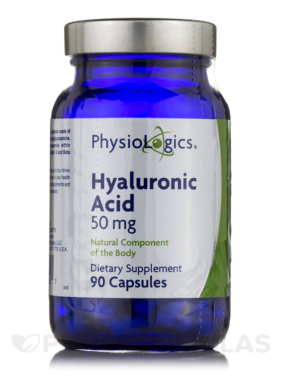 Hyaluronic Acid 50 mg - 90 Capsules