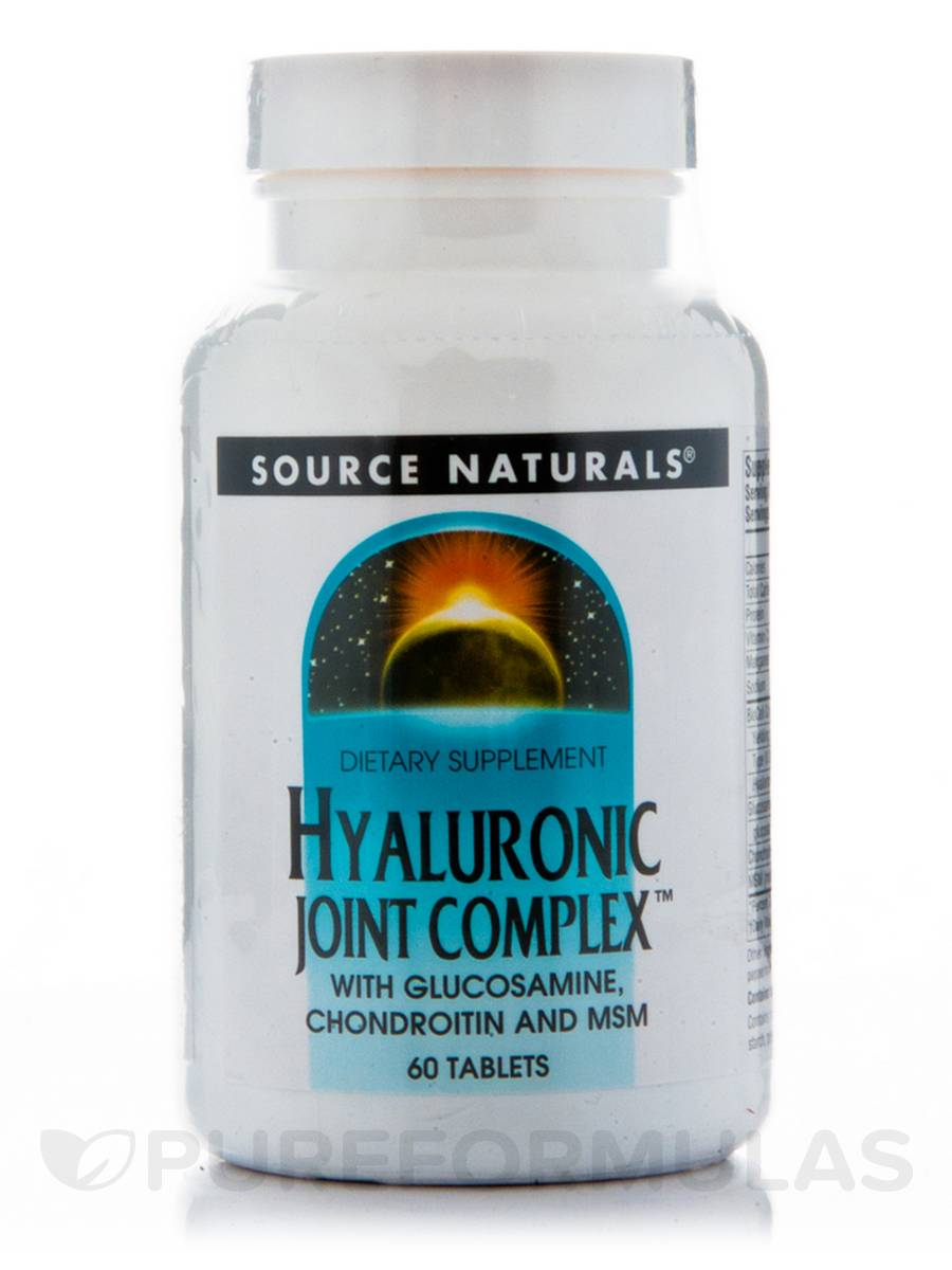 Hyaluronic Joint Complex™ with Glucosamine, Chondroitin and MSM - 60 Tablets