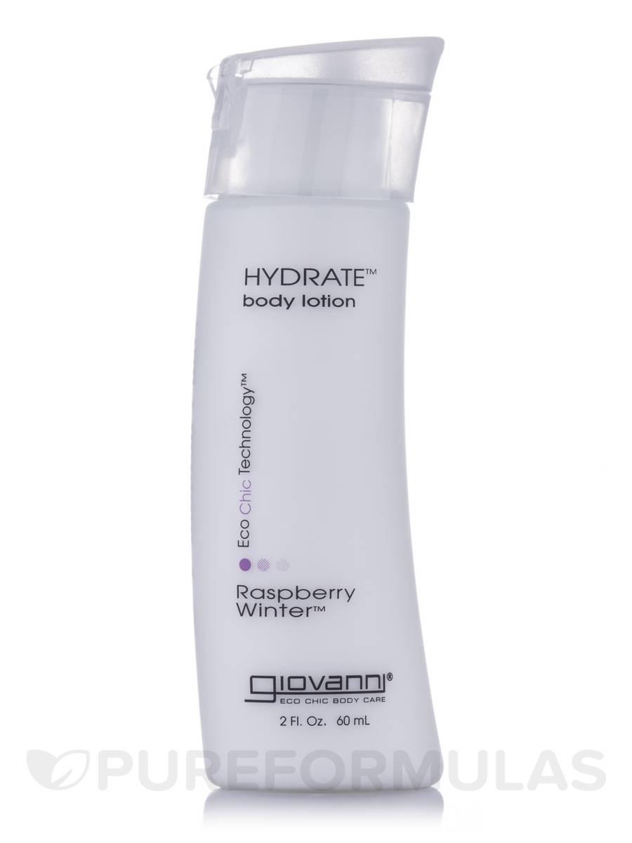Hydrate Body Lotion Raspberry Winter - 2 fl. oz (60 ml)
