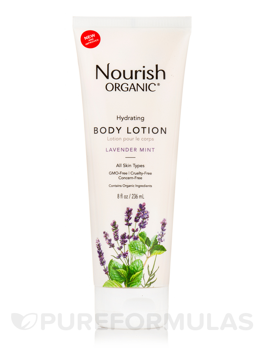 Hydrating & Smoothing Body Lotion (Lavender Mint) - 8 fl. oz (236 ml)