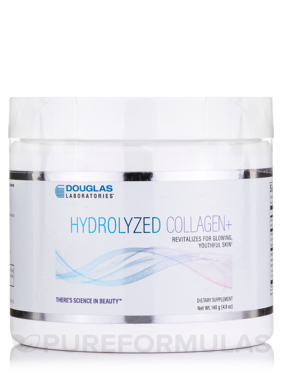 Hydrolyzed Collagen+ - 4.9 oz (140 Grams)