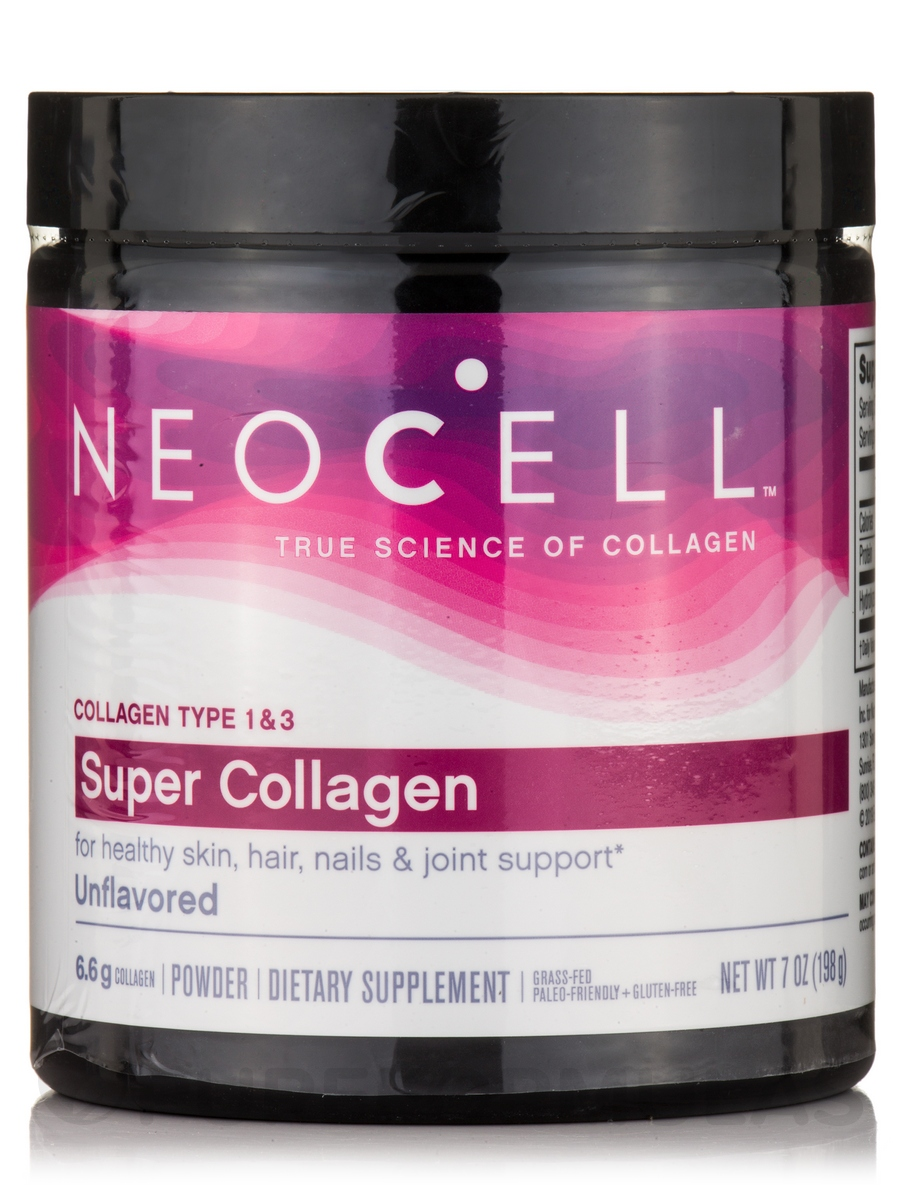 Super Collagen™ Powder (Type 1 & 3) - 7 oz (198 Grams)